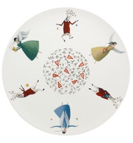 Angels - Charger Plate