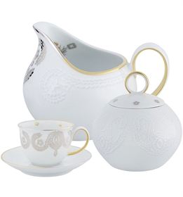 Paseo - Coffee Set  W/ 14 Pieces