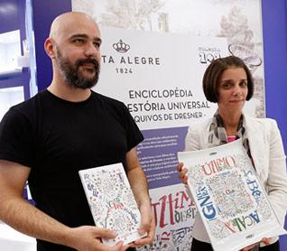 Afonso Cruz e Maria João Lima