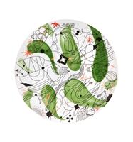 Folkifunki - Charger Plate Green