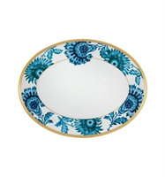 Gold Exotic - Small Oval Platter