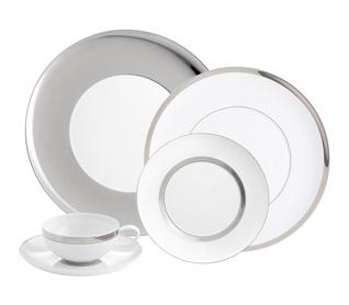 Small Oval Platter Domo Platinium Vista Alegre