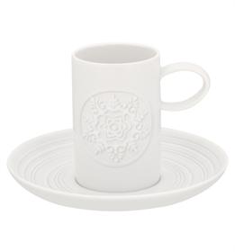 Ornament - Chávena Café com Pires