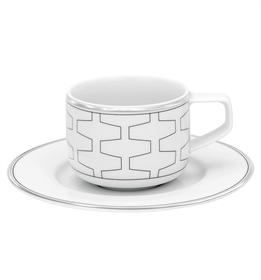 Trasso - Coffee Cup & Saucer