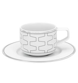 Trasso - Chávena Café com Pires