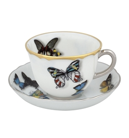 Butterfly Parade - Coffee Cup & Saucer