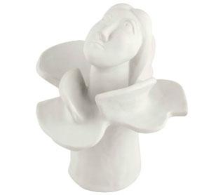 Escul Mulher Flor