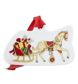 Christmas Magic - Ornamento Caballo y Trineo