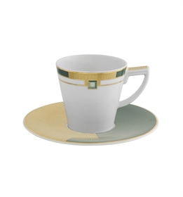 Emerald - Coffee Cup with Saucer