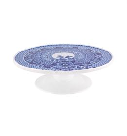 Blue Ming - Prato Bolo com Pé