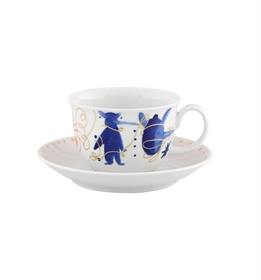 Folkifunki - Tea Cup and Saucer