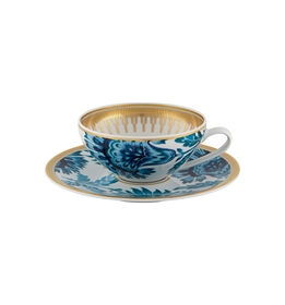 Gold Exotic - Tea Cup w/ Saucer