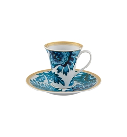 Gold Exotic - Coffee cup w/saucer