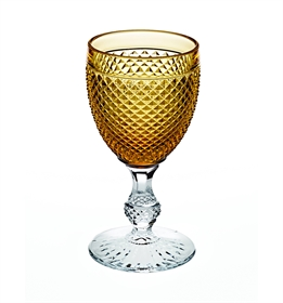 Bicos Bicolor - Goblet with Ambar Top