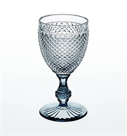 Bicos Bicolor - Goblet with Grey Stem
