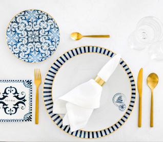 O encanto serve-se à mesa!